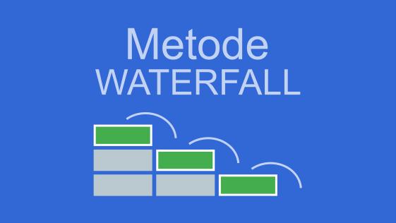 Penjelasan Metode Waterfall  pengembangan sistem