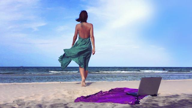 Inessa Kraft, model, actress, nomad