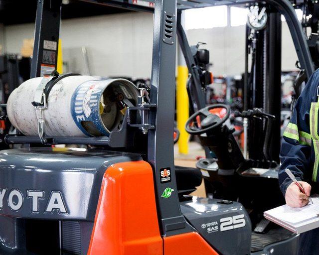 Toyota Lift Truck Service