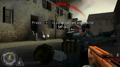 Call of Duty: Roads to Victory PSP - Screenshot 1