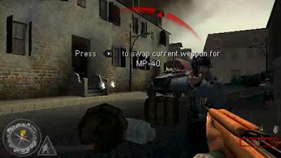 Call of Duty: Roads to Victory PSP - Screenshot 1
