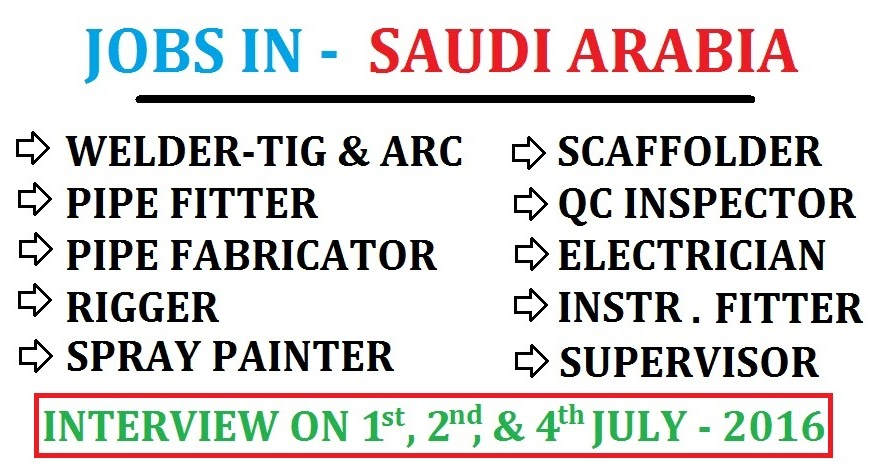 Jobs In Saudi Arabia Dubai Job Walkins