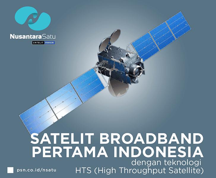 Satelit Indonesia Nusantara 1 Sukses di Luncurkan