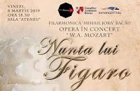 """""""Nunta lui Figaro"""" are loc pe 8 Martie la Sala """"Ateneu"""" din Bacau!"""