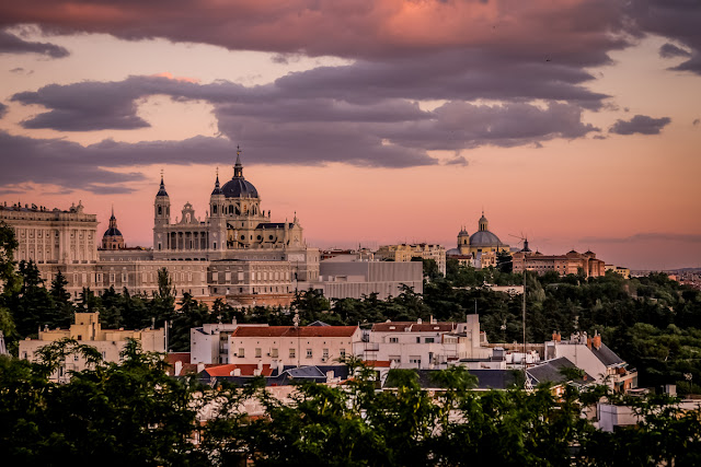 Palacio Real, Madrid, Sunset, Mandy Charlton, Photographer, writer, blogger travel, spain