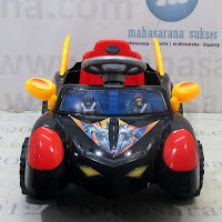 Mobil Mainan Anak SHP SBM627 Super Hero Mobile Ride-on Car