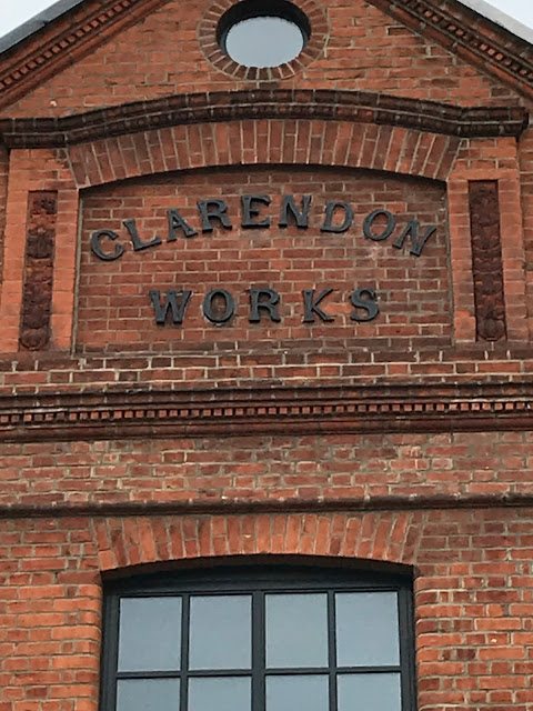 The former Clarendon brick works, Notting Hill, London