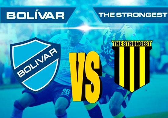 En vivo Bolívar vs. The Strongest - Clásico Nacional - Fecha 15 - LPFB