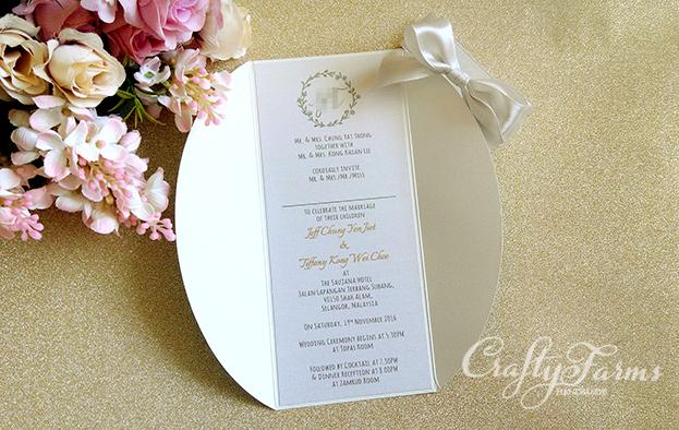 Mint Garden Wedding Invitation Card Kuala Lumpur Malaysia