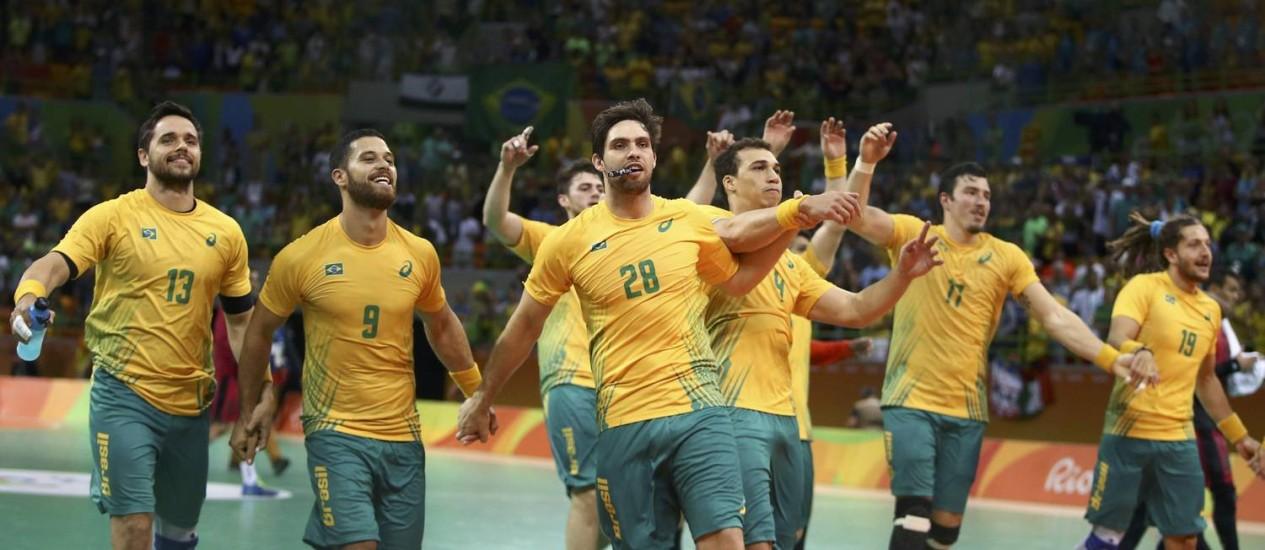 Brasil selección masculina handball