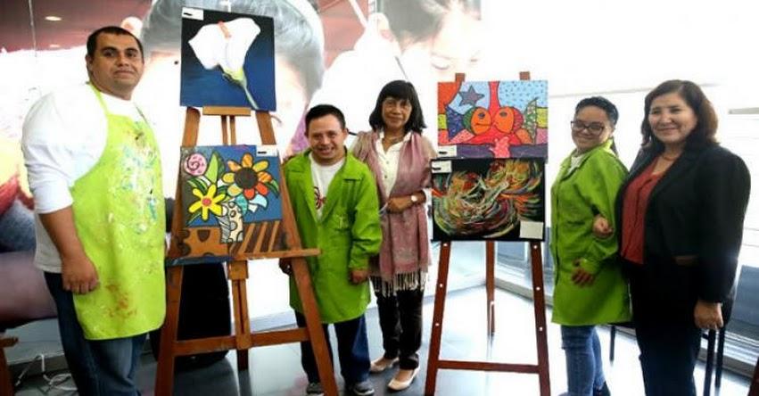 MINEDU: Estudiantes con discapacidad muestran sus trabajos en II Expoarte Inclusivo - www.minedu.gob.pe