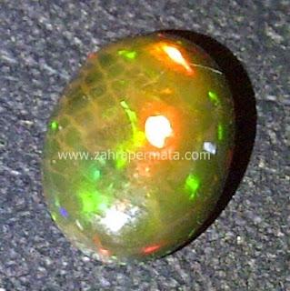 Batu Permata Black Opal Kalimaya - ZP 453