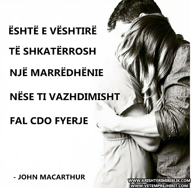 marredhenie, thenie biblike, falja, macarthur shqip,