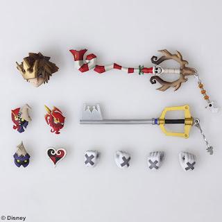 Bring Arts de Sora Halloween Town y Christmas Town ver. de Kingdom Hearts 2 - Square Enix