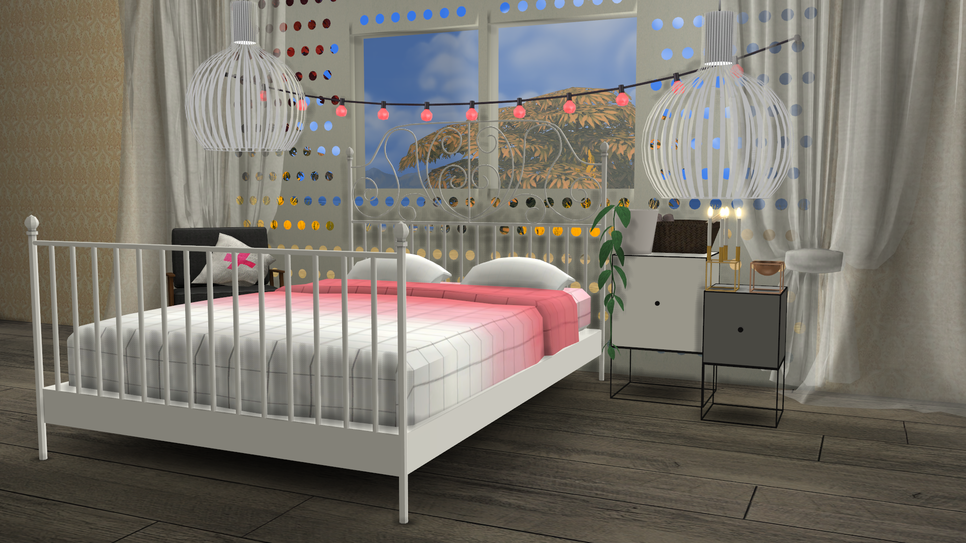 ikea leirvik bed frame and hay bed linen by minc78