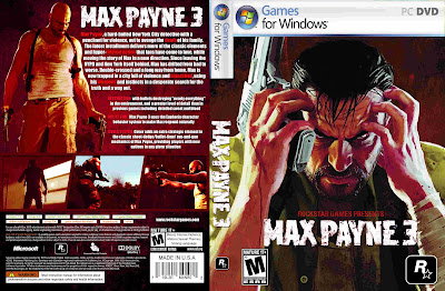 Max Payne 3 PC DVD Capa