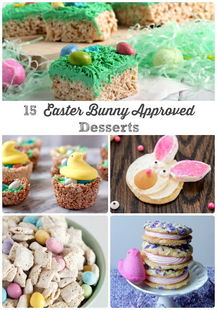 From no-bake creations to easy treats the kids can help with to bunny shaped confections, you are sure to find the perfect sweet treat for Easter in these 15 Easter Bunny Approved Desserts.