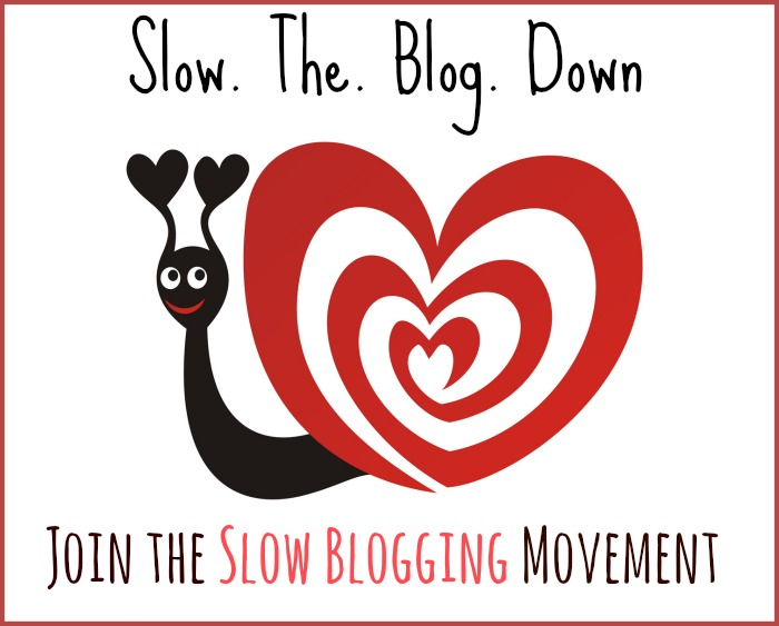 "Blog ""Slow blogging"""