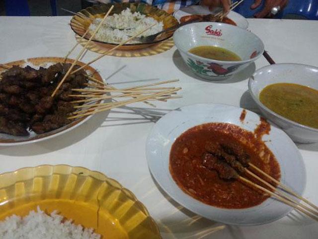 Sate Matang Dek Wan
