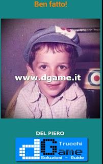 Soluzioni Guess the child footballer livello 45