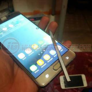 Samsung Note 7 EDGE HDC Depan