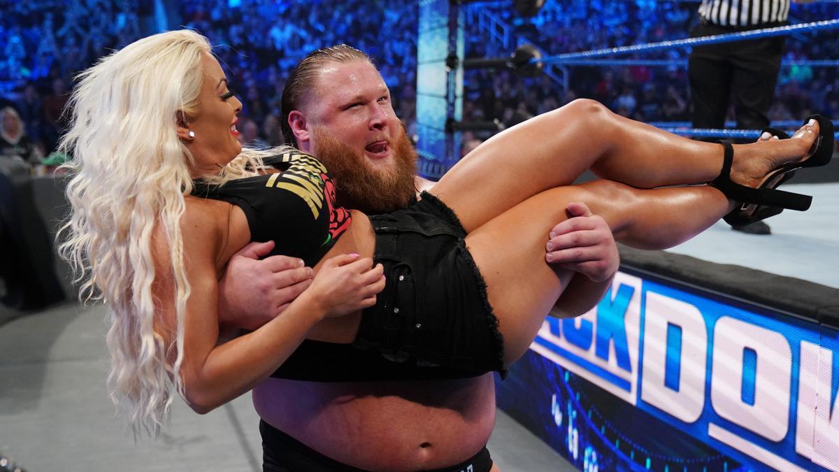 Otis e Mandy Rose poderão ser juntar na WrestleMania