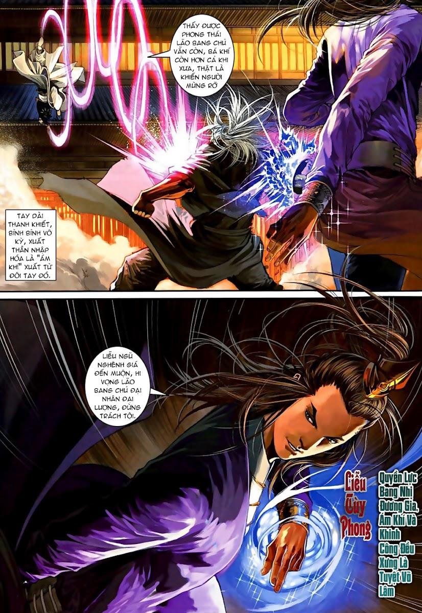 Ôn Thuỵ An Quần Hiệp Truyện Phần 2 chapter 3 trang 20
