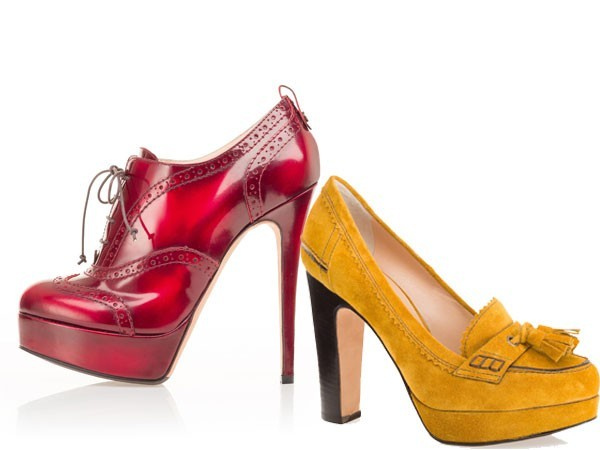 Frankielealtre  Tendenze scarpe 2013  tacchi altissimi e forme squadrate fadb67e0f8f