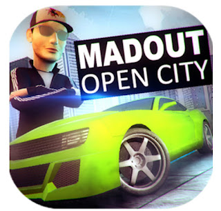 download MadOut Open City Apk + Data Mod Money V8 Latest Version For Android