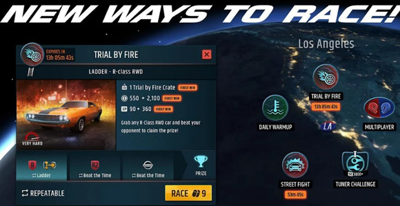 Racing Rivals Mod Apk Unlimited Nitro Terbaru