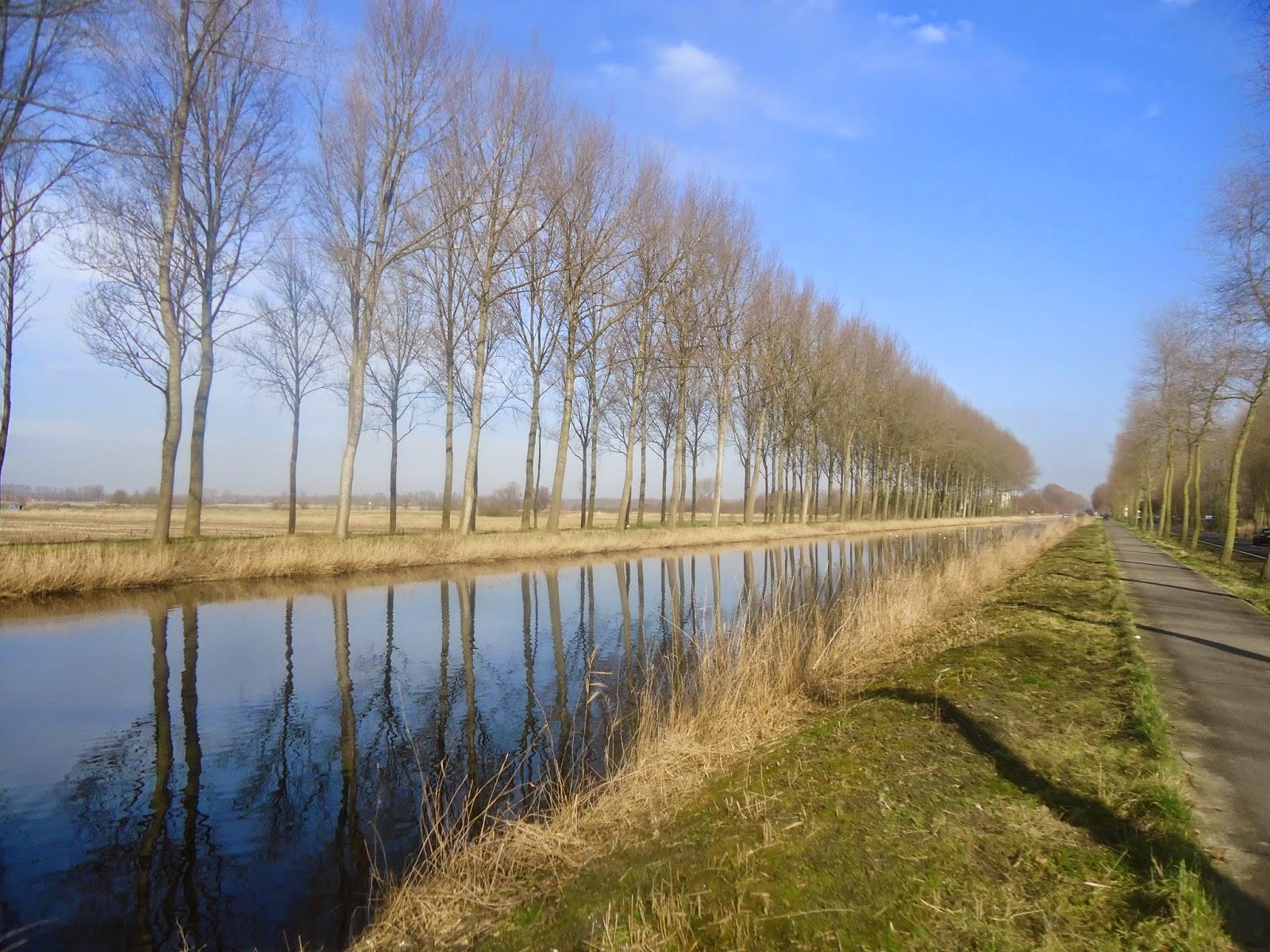 Damme canal Napoleon Bruges Belgium Travel