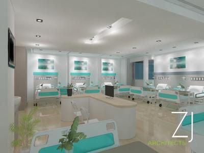Desain Ruang Inap Rumah Sakit Mewah Gambar Rumah Idaman