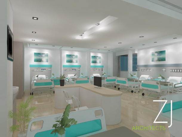 Desain Interior Ruang Rawat Inap Rumah Sakit  Rumah