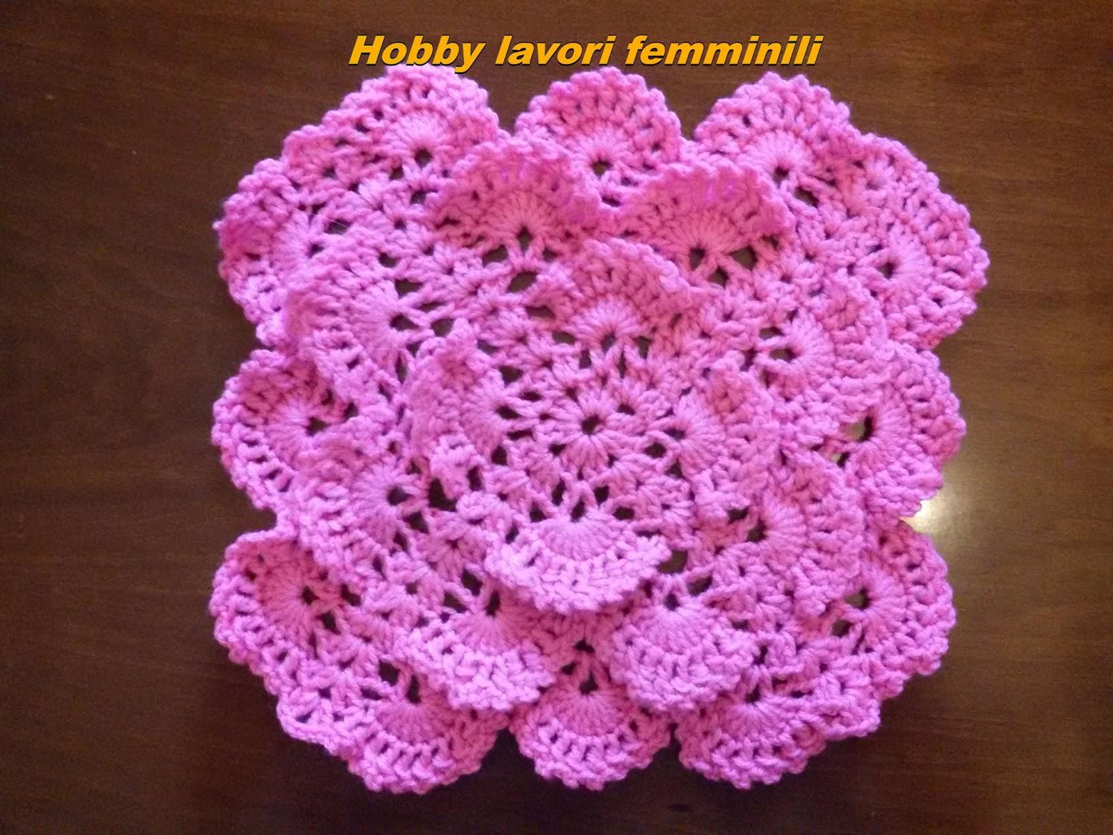 Effetto particolare di queste mattonelle all uncinetto crochet