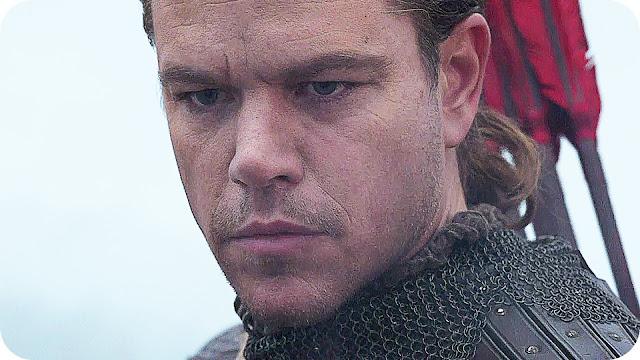 A Grande Muralha Matt Damon
