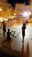 Esculturas Plaza de Aracena, Huelva.