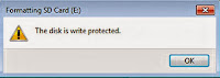 write -protected- solution-pny