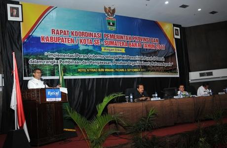 Gubernur Irwan Warning Bupati dan Walikota Tak Libatkan ASN dalam Politik Praktis
