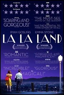 Cartel de La ciudad de las estrellas (La La Land, 2016)