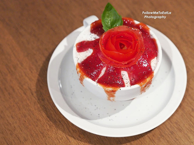 Tomato Bingsu RM 15