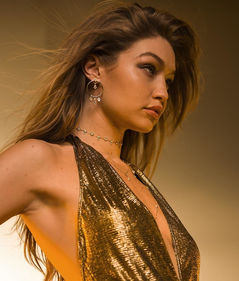 CAMPAIGN: GIGI HADID FOR MESSIKA JEWELRY