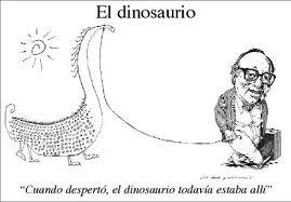 cuando despertó el dinosaurio todavía estaba allí cuento completo pdf
