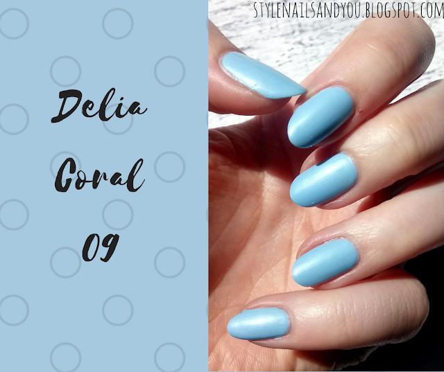 Delia Coral 09 Błękit