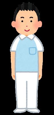 介護士のイラスト(男性)