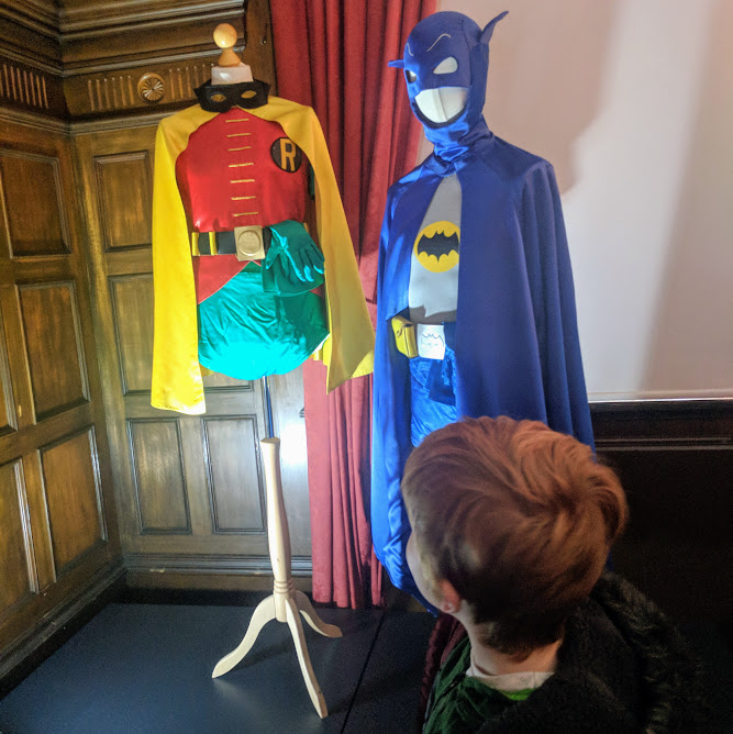 Preston Park - Behind the Seams | 10 reasons to visit with tweens and teens  - Batman and Robin Costumes from Only Fools and Horses