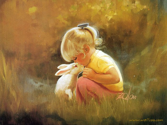Childhood Friends Quotes Wallpaper Free Wallpapers Oil Paintings Of Lovely Childrens