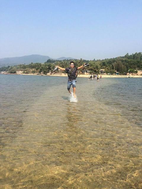 Phượt đảo Nhất Tự Sơn Sông Cầu