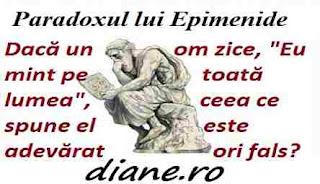 Paradoxul lui Epimenide: Minciuna si adevar