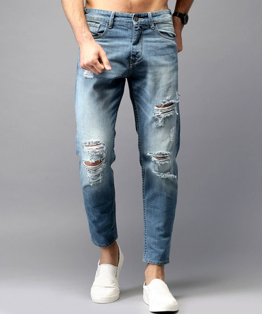 Moda Rapido Mildly Distressed Jeans