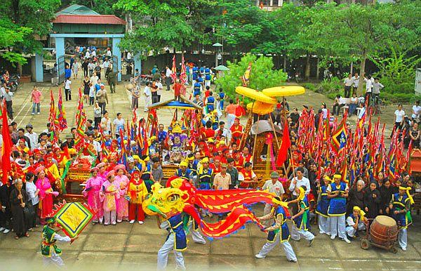 Cấu trúc nội dung của lễ hội truyền thống